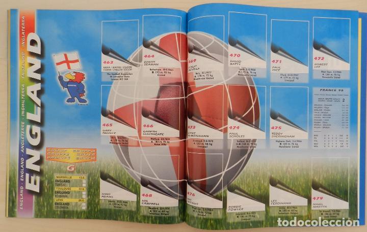 Álbum de fútbol completo: COLECCION COMPLETA PANINI MUNDIAL FRANCIA 1998 ALBUM VACIO + CROMOS WORLD CUP FULL SET WC FRANCE 98 - Foto 12 - 61485323