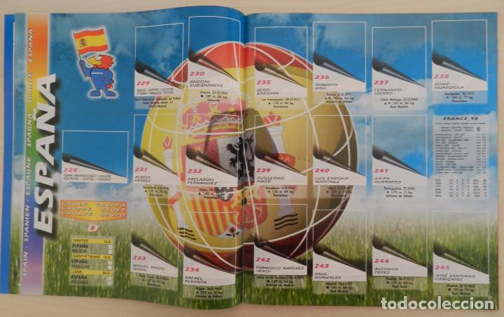 Álbum de fútbol completo: COLECCION COMPLETA PANINI MUNDIAL FRANCIA 1998 ALBUM VACIO + CROMOS WORLD CUP FULL SET WC FRANCE 98 - Foto 13 - 61485323