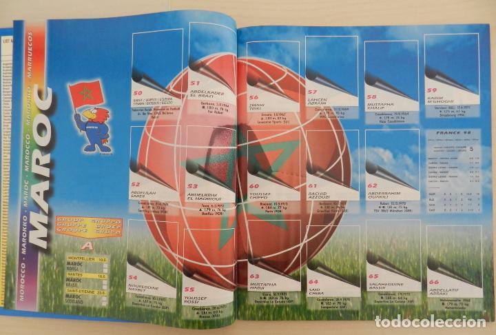 Álbum de fútbol completo: COLECCION COMPLETA PANINI MUNDIAL FRANCIA 1998 ALBUM VACIO + CROMOS WORLD CUP FULL SET WC FRANCE 98 - Foto 14 - 61485323