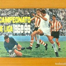 Álbum de fútbol completo: CAMPEONATO LIGA 1968-1969, 68-69 - EDITORIAL FHER - COMPLETO, CON 30 CROMOS DOBLES QUE VAN SUELTOS. Lote 61531132