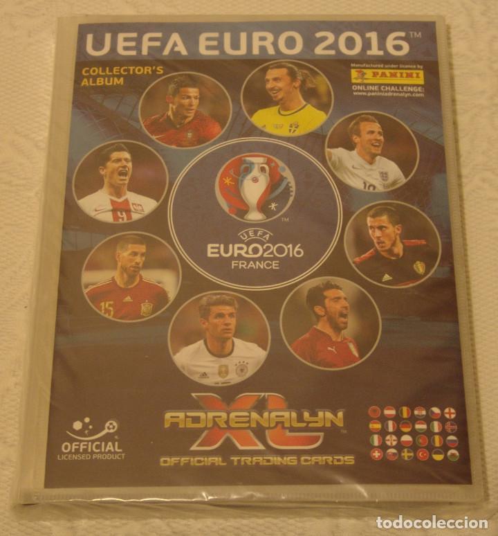 ADRENALYN XL UEFA EURO 2016 FRANCIA + 9 EDL (Coleccionismo Deportivo - Álbumes y Cromos de Deportes - Álbumes de Fútbol Completos)