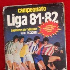 Álbum de fútbol completo: RP ALBUM LIGA ESTE 81 82 1981 1982 MUY COMPLETO COLOCAS FICHAJES DOBLES IMAGENES 391 CROMOS. Lote 62342300