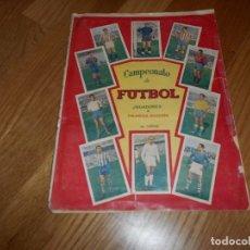 Álbum de fútbol completo: ALBUM FUTBOL , LIGA 1957-58 , COMPLETO, CAMPEONATO DE FUTBOL , VER FOTOS ADICIONALES. Lote 62373204