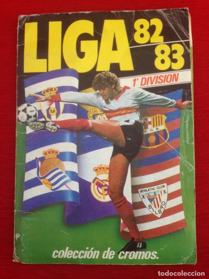RP ALBUM LIGA ESTE 82 83 1982 1983 COMPLETO CON 390 CROMOS MUCHOS DOBLES COLOCAS Y FICHAJES (Coleccionismo Deportivo - Álbumes y Cromos de Deportes - Álbumes de Fútbol Completos)