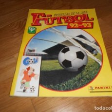 Álbum de fútbol completo: ALBUM DE CROMOS FUTBOL ESTRELLAS DE LA LIGA FUTBOL 1992-93 COMPLETO PANINI 1992. Lote 62566144