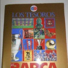 Álbum de fútbol completo: LOS TESOROS DEL BARÇA. 1899-1999. EL MUNDO DEPORTIVO. 80 PAGINAS. COMPLETO. 450 GRAMOS. . Lote 63247208
