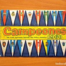 Álbum de fútbol completo: CAMPEONES 1960 - COMPLETO - EDITORIAL BRUGUERA. Lote 63657267