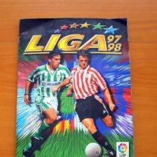 Álbum de fútbol completo: ÁLBUM LIGA 1997-1998, 97-98 - EDICIONES ESTE - COMPLETO Y CON MUCHOS CROMOS DIFICILES. Lote 63728871