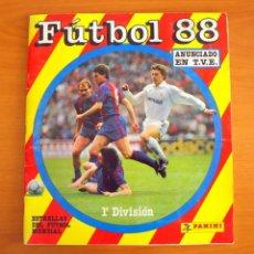 Álbum de fútbol completo: FÚTBOL 88 - EDITORIAL PANINI - COMPLETO. Lote 63853747