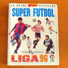 Álbum de fútbol completo: SUPER FÚTBOL MUNDICROMO - LIGA 96, 95-96, 1995-1996 - MUNDI CROMO - COMPLETA, 455 CROMOS. Lote 63856419