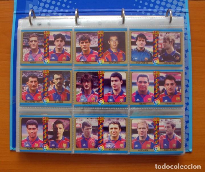 FÚTBOL TOTAL MUNDICROMO - LIGA 94-95, 1994-1995 - COMPLETA, 302 CROMOS, MAS 4 COMODINES (Coleccionismo Deportivo - Álbumes y Cromos de Deportes - Álbumes de Fútbol Completos)