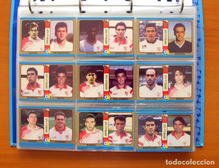 Álbum de fútbol completo: Fútbol Total Mundicromo - Liga 94-95, 1994-1995 - Completa, 302 cromos, mas 4 comodines - Foto 11 - 64199091