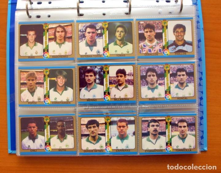 Álbum de fútbol completo: Fútbol Total Mundicromo - Liga 94-95, 1994-1995 - Completa, 302 cromos, mas 4 comodines - Foto 15 - 64199091