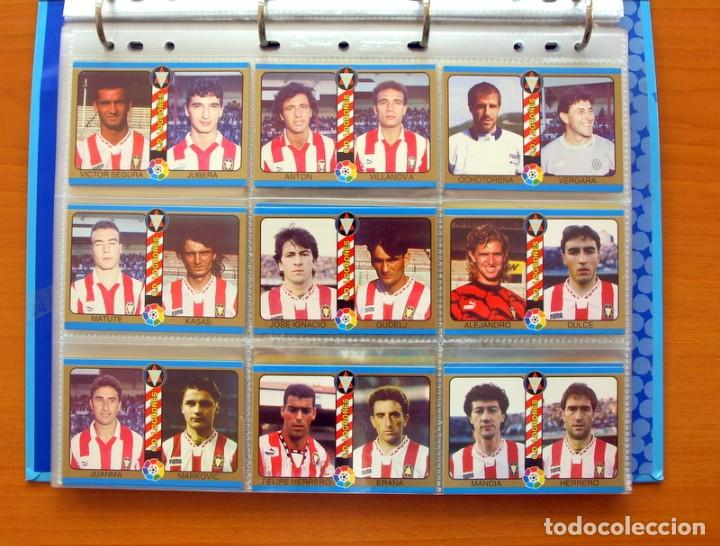 Álbum de fútbol completo: Fútbol Total Mundicromo - Liga 94-95, 1994-1995 - Completa, 302 cromos, mas 4 comodines - Foto 31 - 64199091