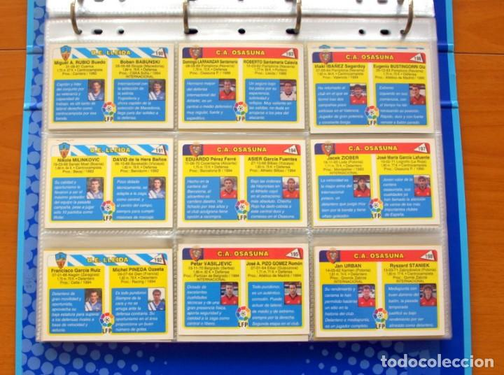 Álbum de fútbol completo: Fútbol Total Mundicromo - Liga 94-95, 1994-1995 - Completa, 302 cromos, mas 4 comodines - Foto 44 - 64199091
