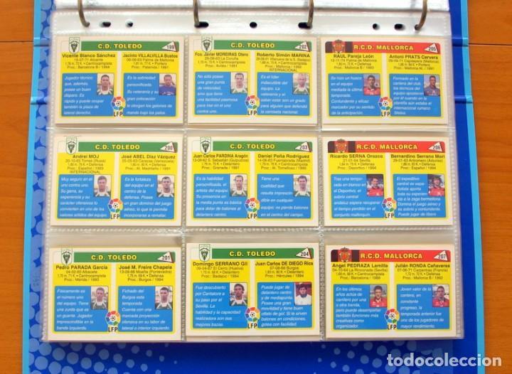 Álbum de fútbol completo: Fútbol Total Mundicromo - Liga 94-95, 1994-1995 - Completa, 302 cromos, mas 4 comodines - Foto 46 - 64199091