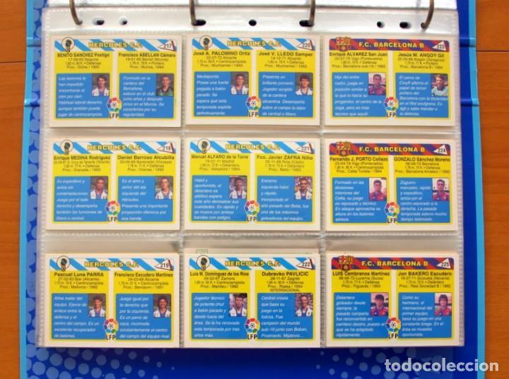 Álbum de fútbol completo: Fútbol Total Mundicromo - Liga 94-95, 1994-1995 - Completa, 302 cromos, mas 4 comodines - Foto 50 - 64199091