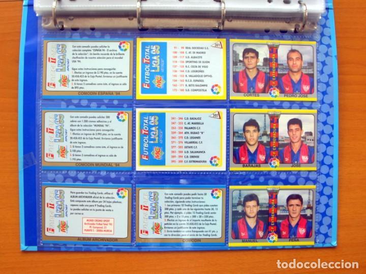 Álbum de fútbol completo: Fútbol Total Mundicromo - Liga 94-95, 1994-1995 - Completa, 302 cromos, mas 4 comodines - Foto 67 - 64199091