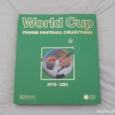 Álbum de fútbol completo: ALBUM PANINI . LIBRO FACSÍMIL MUNDIAL DE FÚTBOL. WORLD CUP 1970-2014.. Lote 64473535