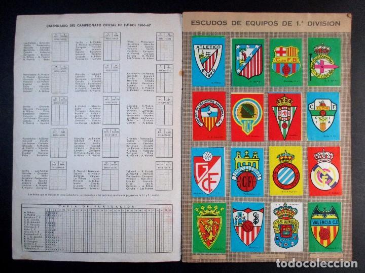 Álbum de fútbol completo: LIGA CAMPEONATO DE LIGA 1966 - 1967 , 66 67 , ALBUM DE CROMOS COMPLETO , FHER , DISGRA - Foto 2 - 65247807