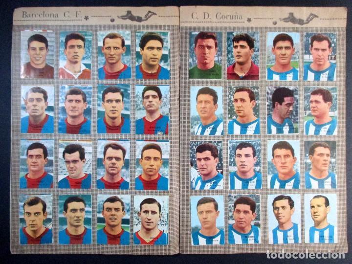 Álbum de fútbol completo: LIGA CAMPEONATO DE LIGA 1966 - 1967 , 66 67 , ALBUM DE CROMOS COMPLETO , FHER , DISGRA - Foto 4 - 65247807