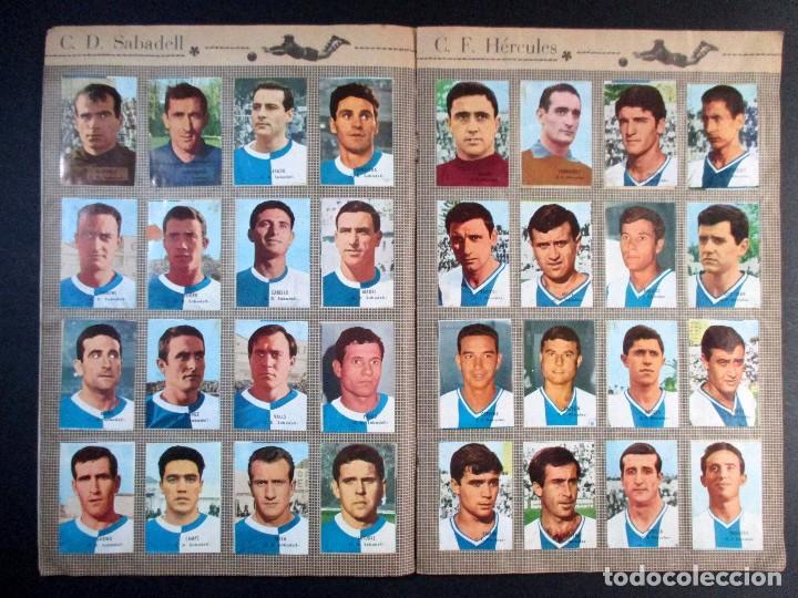 Álbum de fútbol completo: LIGA CAMPEONATO DE LIGA 1966 - 1967 , 66 67 , ALBUM DE CROMOS COMPLETO , FHER , DISGRA - Foto 5 - 65247807