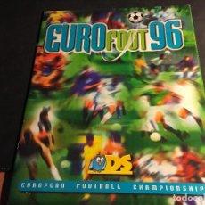 Álbum de fútbol completo: EURO FOOT 96 EUROPEAN FOOTBALL CHAMPIONSHIP. EUROCOPA 96 (ALB-A). Lote 65691142
