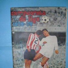 Álbum de fútbol completo: ALBUM,CAMPEONATO DE LIGA 1972-73,DISGRA FHER,COMPLETO CON IRIBAR OSCURO EL DIFICIL. Lote 67026958