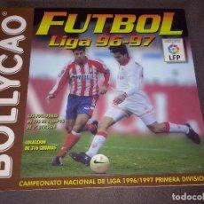Álbum de fútbol completo: ALBUM BOLLYCAO LIGA 1996 - 1997 96/97 PLANCHA EN PERFECTO ESTADO SIN NINGUN CROMO. VACIO. NUEVO. Lote 67192025