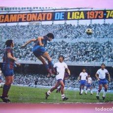 Álbum de fútbol completo: ALBUM CROMOS FUTBOL - CAMPEONATO DE LIGA 1973 - 74 - ED. FHER DISGRA - COMPLETO - BUEN ESTADO - VER. Lote 67323001