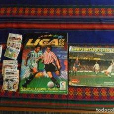 Álbum de fútbol completo: ESTE LIGA 1975 1976 75 76 INCOMPLETO 1997 1998 97 98 COMPLETO. REGALO ARTUA ESPAÑA 1982 Y FÚTBOL 88.. Lote 67578901