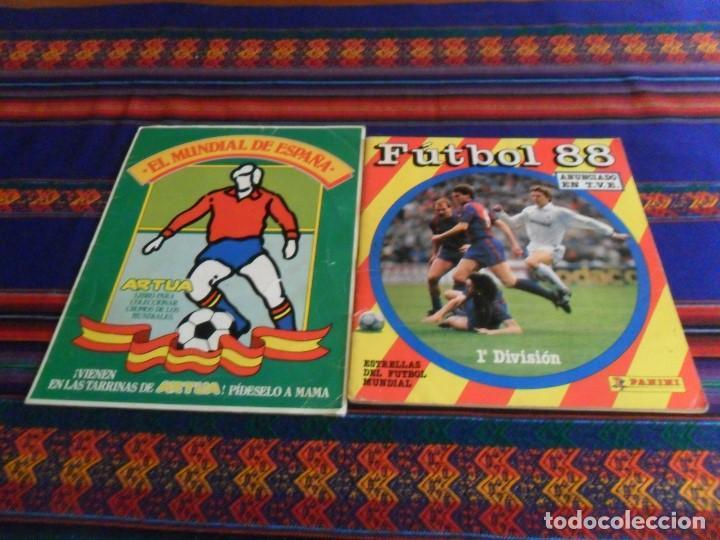 Álbum de fútbol completo: ESTE LIGA 1975 1976 75 76 INCOMPLETO 1997 1998 97 98 COMPLETO. REGALO ARTUA ESPAÑA 1982 Y FÚTBOL 88. - Foto 27 - 67578901