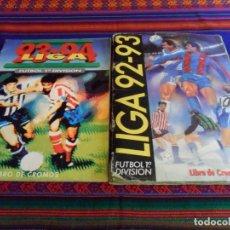 Álbum de fútbol completo: ESTE LIGA 1993 1994 93 94 MBE COMPLETO Y 1992 1993 92 93 INCOMPLETO. REGALO FÚTBOL 90 PANINI.. Lote 67593757