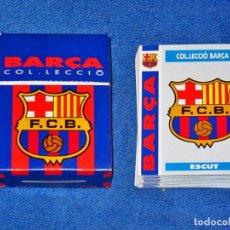 Álbum de fútbol completo: BARÇA COL-LECCIÓ 92 - FC BARCELONA COLECCIÓN 92 - COLECCIÓN COMPLETA Y EN EXCELENTE ESTADO. Lote 68282781
