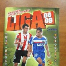 Álbum de fútbol completo: COLECCIÓN COMPLETA ESTE 08 09 PANINI 2008 2009 ÁLBUM + 574 CROMOS PEGADOS. Lote 68435081