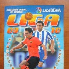 Álbum de fútbol completo: COLECCIÓN COMPLETA ESTE 09 10 PANINI 2009 2010 ÁLBUM + 558 CROMOS PEGADOS. Lote 68435605