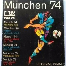 Álbum de fútbol completo: ALBUM DE CROMOS PANINI MUNDIAL 74 MUNICH 1974 - 100% COMPLETO. Lote 27357497