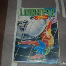Álbum de fútbol completo: ALBUM CROMO ESTE 91 92 1991 1992 COMPLETO Y MUY BUEN ESTADO. Lote 69680233