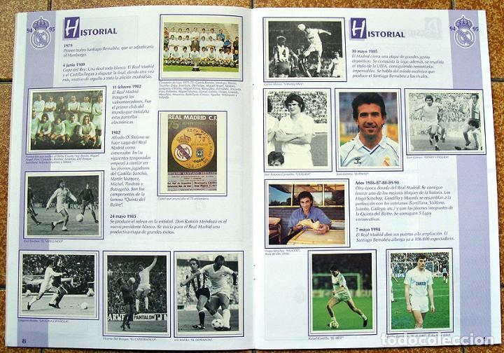 Álbum de fútbol completo: album 1994 Excelente estado, Real Madrid Futbol y Baloncesto. Himno Historia Jugadores - Foto 6 - 70029161