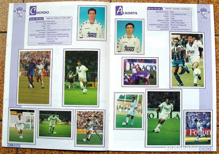 Álbum de fútbol completo: album 1994 Excelente estado, Real Madrid Futbol y Baloncesto. Himno Historia Jugadores - Foto 9 - 70029161