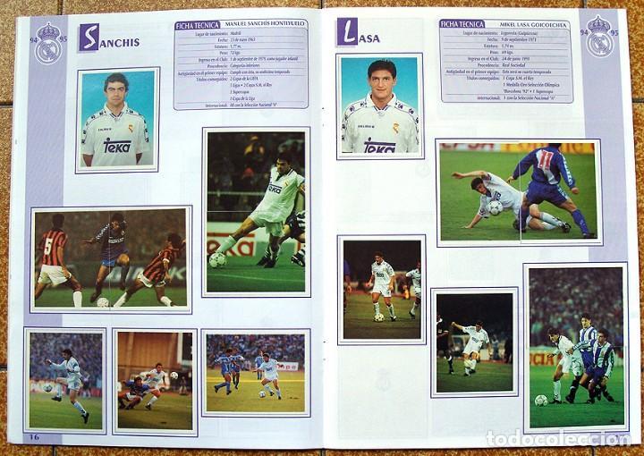 Álbum de fútbol completo: album 1994 Excelente estado, Real Madrid Futbol y Baloncesto. Himno Historia Jugadores - Foto 10 - 70029161