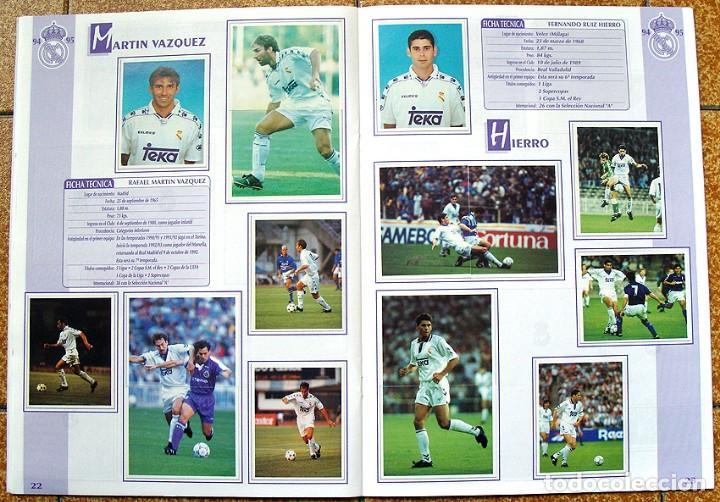 Álbum de fútbol completo: album 1994 Excelente estado, Real Madrid Futbol y Baloncesto. Himno Historia Jugadores - Foto 13 - 70029161