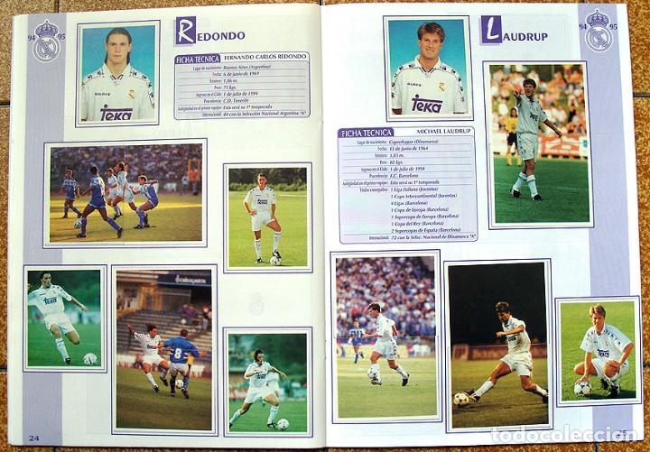 Álbum de fútbol completo: album 1994 Excelente estado, Real Madrid Futbol y Baloncesto. Himno Historia Jugadores - Foto 14 - 70029161