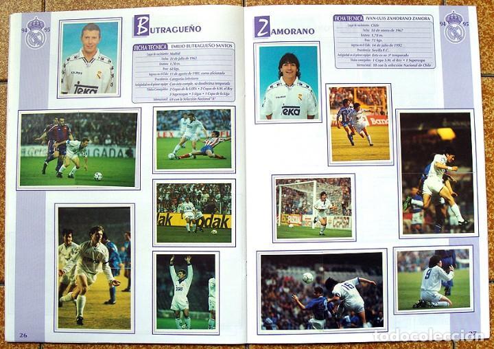 Álbum de fútbol completo: album 1994 Excelente estado, Real Madrid Futbol y Baloncesto. Himno Historia Jugadores - Foto 15 - 70029161