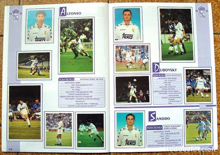 Álbum de fútbol completo: album 1994 Excelente estado, Real Madrid Futbol y Baloncesto. Himno Historia Jugadores - Foto 16 - 70029161