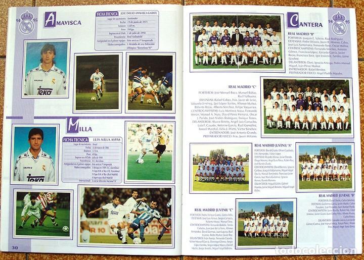 Álbum de fútbol completo: album 1994 Excelente estado, Real Madrid Futbol y Baloncesto. Himno Historia Jugadores - Foto 17 - 70029161