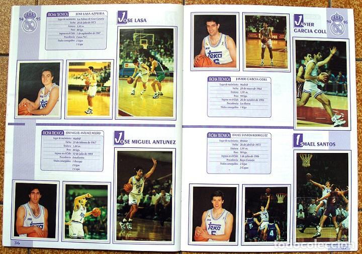 Álbum de fútbol completo: album 1994 Excelente estado, Real Madrid Futbol y Baloncesto. Himno Historia Jugadores - Foto 20 - 70029161