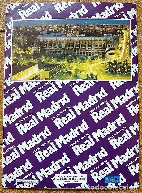 Álbum de fútbol completo: album 1994 Excelente estado, Real Madrid Futbol y Baloncesto. Himno Historia Jugadores - Foto 23 - 70029161