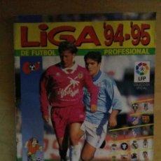 Álbum de fútbol completo: ALBUM LIGA 94/95 DE FUTBOL COMPLETO EDITORIAL PANINI 1994-95. Lote 70208809