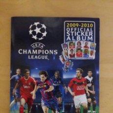 Álbum de fútbol completo: ALBUM UEFA CHAMPIONS LEAGUE 2009/2010 COMPLETO DE PANINI. Lote 71121849